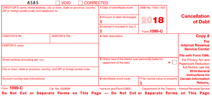 Form-1099-C