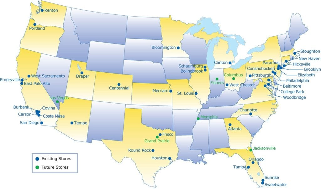 IKEA-stores-are-most-often-located-near-large-cities